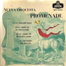 Discos de vinilo: SINGLE - NUEVA ORQUESTA PROMENADE DIR. ROY ROBERTSON / KETELBEY- MERCADO PERSA,SANTUARIO DEL CORAZON. Lote 14181103