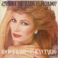 Discos de vinilo: ROCIO JURADO CON JUAN PARDO SINGLE SELLO RCA AÑO 1983 PROMOCIONAL . Lote 14172681