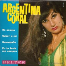 Discos de vinilo: ARGENTINA CORAL EP SELLO BELTER AÑO 1965. . Lote 14174974