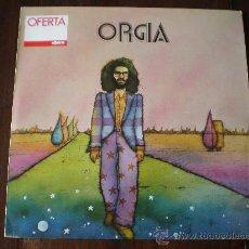 Discos de vinilo: SISA - ORGIA - (EDIGSA-1974) MUSICA DISPERSA - 1971 FOLK PROGRESIVO LP + INSERT. Lote 37468992