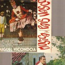 Discos de vinilo: 2 EP´S EUSKADI FOLK: MIGUEL VICONDOA + CARLOS FAGOADA. Lote 24795062