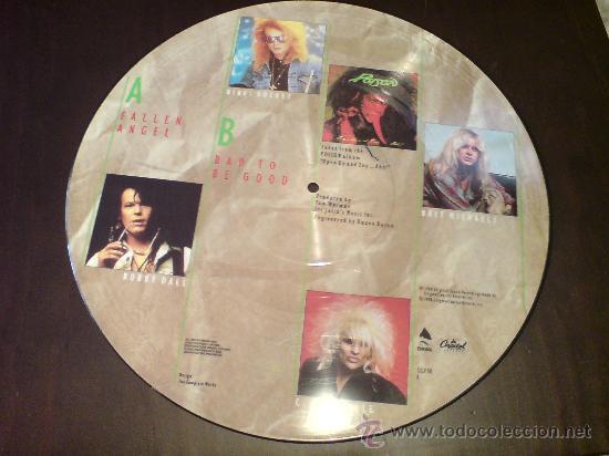 Discos de vinilo: POISON - FALLEN ANGEL - MAXI FOTODISCO - 1988 - VINILOVINTAGE - Foto 2 - 22930878
