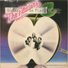 Discos de vinilo: THE PLATTERS BODAS DE PLATA LP MERCURY 1981. Lote 14202469