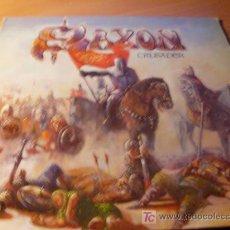 Discos de vinilo: SAXON ( CRUSADER ) LP ESPAÑA 1984 ( VIN). Lote 14207293