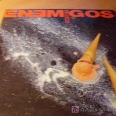 Discos de vinilo: LOS ENEMIGOS ( LA VIDA MATA ) LP ESPAÑA 1990 ( VIN). Lote 26985950