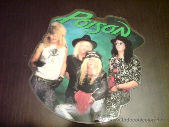 POISON - EVERY ROSE HAS ITS THORN - MAXI FOTODISCO - 1988 - VINILOVINTAGE (Música - Discos de Vinilo - Maxi Singles - Heavy - Metal)