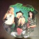 Discos de vinilo: POISON - EVERY ROSE HAS ITS THORN - MAXI FOTODISCO - 1988 - VINILOVINTAGE. Lote 22791538