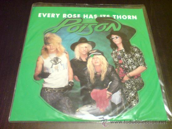 Discos de vinilo: POISON - EVERY ROSE HAS ITS THORN - MAXI FOTODISCO - 1988 - VINILOVINTAGE - Foto 2 - 22791538