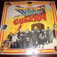 Discos de vinilo: CANCIONES PARA DESPUES DE UNA GUERRA. Lote 26895531