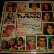 Discos de vinilo: A RITMO ESPAÑOL - MANOLO ESCOBAR - PERLITA DE HUELVA - CONCHITA BAUTISTA. Lote 22677380