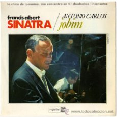 Discos de vinilo: SINATRA / JOBIM – EP SPAIN 1967 – REPRISE / HISPAVOX HRE 297-62. Lote 18230212