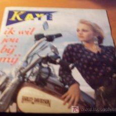 Disques de vinyle: KAYE ( IK WIL JOU BIJ MIJ ) SINGLE HARLEY DAVIDSON PORTADA (EPI19). Lote 14304425
