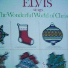 Discos de vinilo: ELVIS PRESLEY,WONDERFUL WORLD OF CHRISTMAS DEL 71 EDICION USA. Lote 14235126
