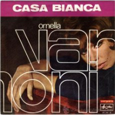 Discos de vinilo: ORNELLA VANONI+ANNA IDENTICI – FESTIVAL DE SAN REMO 1968 - SN SPAIN – VERGARA/ARISTON 45231A. Lote 16268175