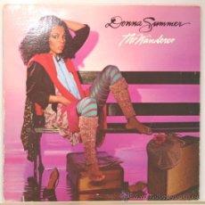 Discos de vinilo: DONNA SUMMER THE WANDERER LP GEFFEN RECORDS 1980. Lote 14259557