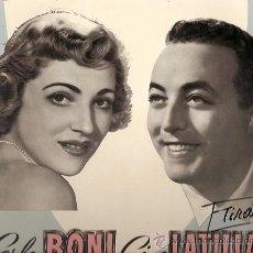Discos de vinilo: CARLA BONI / GINO LATILLA 10¨ (25 CTMS.) SELLO CETRA EDITADO EN ITALIA . Lote 14265812
