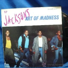 Discos de vinilo: - THE JACKSONS - ART OF MADNESS - EPIC 1989. Lote 18361749