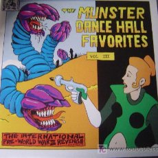 Discos de vinilo: THE MUNSTER DANCE HALL FAVORITES VOL.III (BORED-SPANKS-LA SECTA-INFIDELS-BAM BALAMS......). Lote 26285873