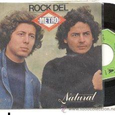 Discos de vinilo: SINGLE 45 RPM / NATURAL / ROCK DEL METRO /// EDITADO POR MOVIEPLAY . Lote 23875430