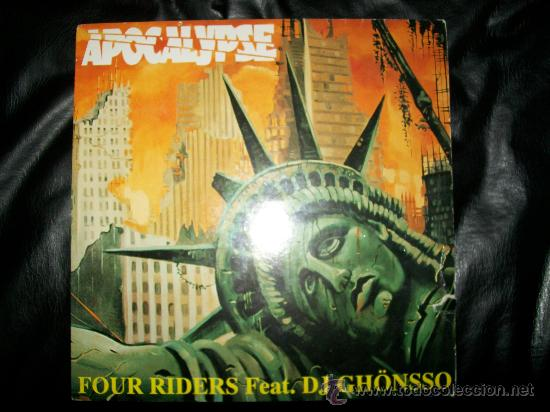 FOUR RIDERS - APOCALYPSE FEAT DJ GHONSSO (Música - Discos - Singles Vinilo - Techno, Trance y House)