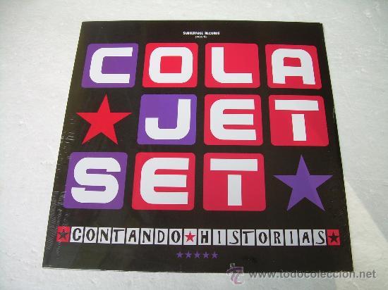 LP COLA JET SET CONTANDO VINILO LOS FRESONES REBELDES (Música - Discos - LP Vinilo - Grupos Españoles de los 90 a la actualidad)