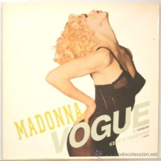Discos de vinilo: MADONNA VOGUE MAXI 12 MADE IN GERMANY 1990. Lote 14300283