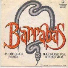 Discos de vinilo: BARRABAS,ON THE ROAD AGAIN DEL 81. Lote 14301462