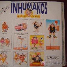 Discos de vinilo: LOS INHUMANOS - DIRECTUM TREMENS 2-LP'S. Lote 24906084