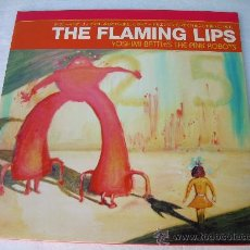 Discos de vinilo: LP THE FLAMING LIPS YOSHIMI BATTLES VINILO COLOR ROJO. Lote 29034043