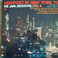 Discos de vinilo: LP - NEWPORT IN NEW YORK 72, THE JAM SESSIONS, VOL. 3 - VARIOS - ORIGINAL ESPAÑOL, ATLANTIC 1972. Lote 14324151