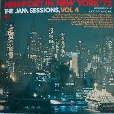 Discos de vinilo: LP - NEWPORT IN NEW YORK 72, THE JAM SESSIONS, VOL. 4 - VARIOS - ORIGINAL ESPAÑOL, ATLANTIC 1973. Lote 14324243
