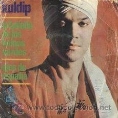 Discos de vinilo: KULDIP: OJOS DE ESPAÑA (SINGLE DE 1966) . Lote 14336077