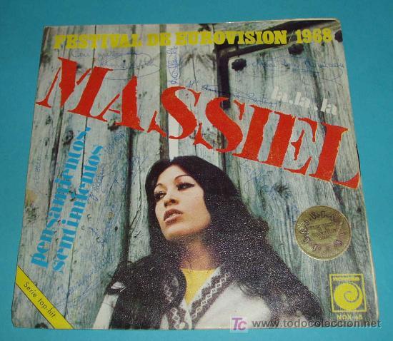 MASSIEL. EUROVISION 1968 (Música - Discos - Singles Vinilo - Festival de Eurovisión)