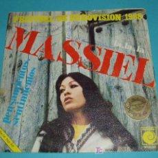Discos de vinilo: MASSIEL. EUROVISION 1968. Lote 14342402