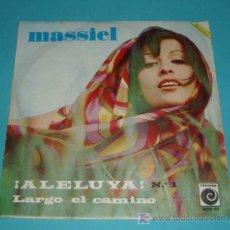 Discos de vinilo: MASSIEL. Lote 14342443