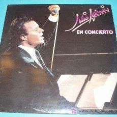 Discos de vinilo: JULIO IGLESIAS. EN CONCIERTO. DISCO DOBLE. Lote 21385273