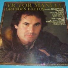 Discos de vinilo: VICTOR MANUEL. Lote 19182704