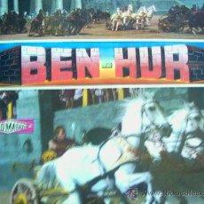 Discos de vinilo: BEN-HUR,ADAPTACION TEATRAL VARIOS ARTISTAS DEL 61. Lote 14345037