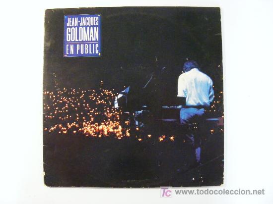 JEAN-JACQUES GOLDMAN EN PUBLIC (Música - Discos - LP Vinilo - Otros estilos)