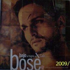 """Disques de vinyle: MIGUEL BOSE """"BAJO EL SIGNO DE CAÍN"""". Lote 27296494"""