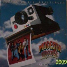 Discos de vinilo: MODESTIA APARTE