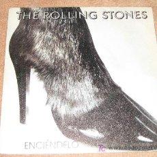 Discos de vinilo: THE ROLLING STONES - ENCIENDELO- 1981. Lote 14398663