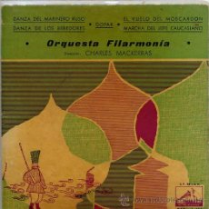 Discos de vinilo: ORQUESTA FILARMONICA - CHARLES MACKERRAS (EP LA VOZ DE SU AMO) TEMAS EN PORTADA. Lote 14399807