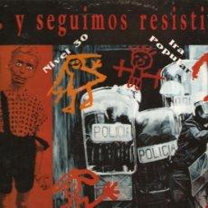 Discos de vinilo: LP 4 GRUPOS DE HARD CORE & PUNK: DESPOJO + IRA POPULAR + NIVEL 30 + LA INSURRECCION. Lote 25100606