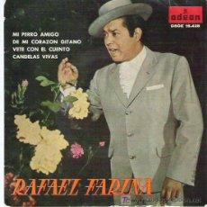 Discos de vinilo: RAFAEL FARINA -MI PERRO AMIGO *** ODEON 1961. Lote 14465157