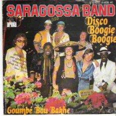 Discos de vinilo: SARAGOSSA BAND - DISCO BOOGIE BOOGIE *** ARIOLA. Lote 14475378