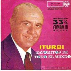 Discos de vinilo: ITURBI - FAVORITOS DE TODO EL MUNDO *** RCA 1962. Lote 14475980