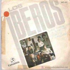 Discos de vinilo: LOS IBEROS - LAS TRES DE LA NOCHE *** COLUMBIA 1968. Lote 14479949