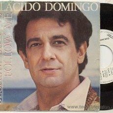 Discos de vinilo: SINGLE PROMO 45 RPM / PLACIDO DOMINGO / BESAME MUCHO // EDITADO POR HISPAVOX. Lote 14487572