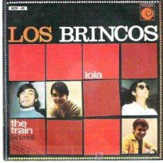 Discos de vinilo: LOS BRINCOS - LOLA / THE TRAIN *** NOVOLA 1967. Lote 14491422